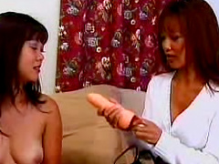 Lonely and brave Teanna Kai is waiting for her hot chick