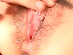 Creampie in tight Asian ass