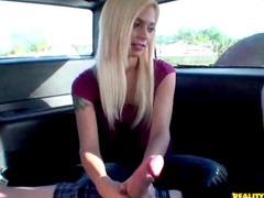 Sucking dick in a car