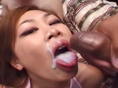 Asian cum bucket interracial sex scene