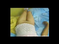 Curvy amateur Asian hot creampie video