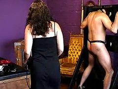 Hooded man suffers for his mistress