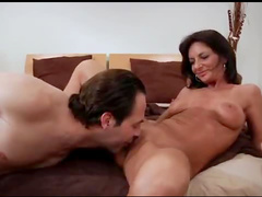 Milf does deepthroat BJ