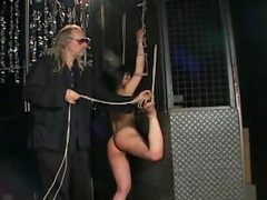 Intense bondage with a Japanese submissive