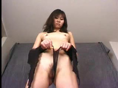Teasing and unruly Kanako is having fun with her teacher