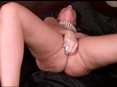 Pink toy fills her hole
