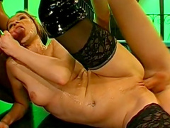 Pretty hardcore anal sex with cum-swallowing