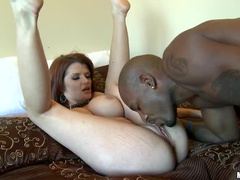 Joslyn James big black cock sex