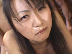 Japanese babe fucked hard by her classmates at school