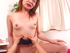 Arisha Shiraishi is riding on the nice dick