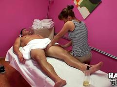 Nikko Jordan sucks dick of Tony Martinez after massage