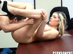 Fucked on conference table