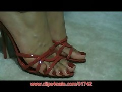 Amatuer Foot Model Candy