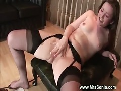 Mature and fucking machine fetish