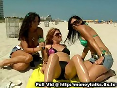 Paid Flashing On Beach