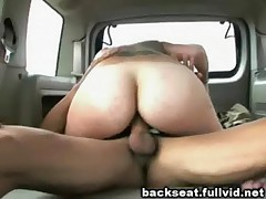 Facial In Backseat