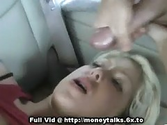 Facial In Backseat Of Car