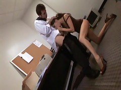 Jenna Haze fucked at the office