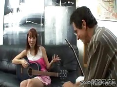 Music teacher fucks her teenage student