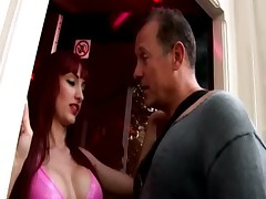 Real european hooker sucks amateur mans cock in reality sex