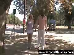 Blacks On Blondes - Hardcore Interracial Fuck 01