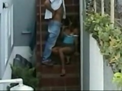 Hidden Camera Sex, Caught doing the nasty by neighbor  - zoomed