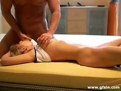 German couple first homemade passionate sex video