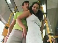 Amateur Sex On The  Bus
