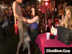 cfnm stripper at cfnm club