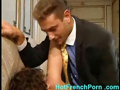 French housewife with big tits fucking