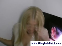 Real amateur slut gloryhole strip