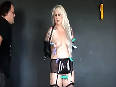Goth Amateur Slaves Tit Torments