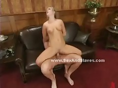 Black cock spanking round perfect ass