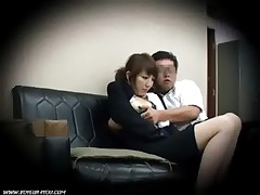 Secretary busted by spy cam