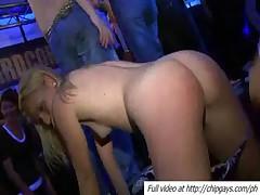 Drunk girls blowing dicks