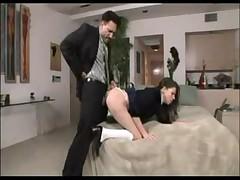 Schoolgirl Missy stone in Uniform seduce Old teacher for extra marks