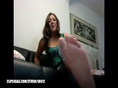 Samantha Foot Humiliation