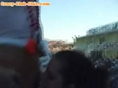 Teen Lesbos Drunk In Public