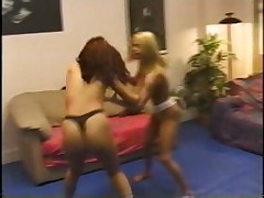 Blonde Brunette Catfight pt 1/3
