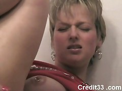 Horny Milf masturbating and squirting