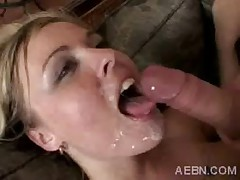 Cumshots and Natural Tits Compilation