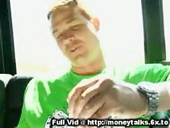 Money Talks Car Blowjob