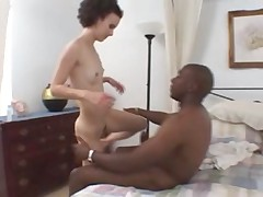 hot skinny fucking interracial