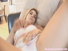 NaughtySarahatHome - Upskirt and white panty