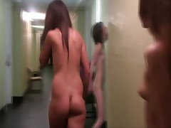 Naked teens public humiliation