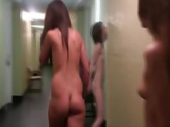 Naked teens public humiliation
