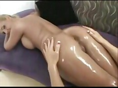 Jayden and Phoenix oily butts fucked