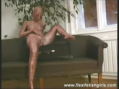 Flexi fetish girls spreading
