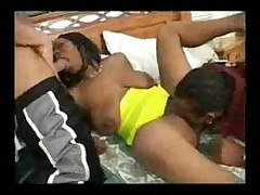 Skyy Black Threesome