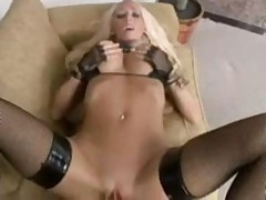 Bad Ass Blonde Gets Nailed POV
